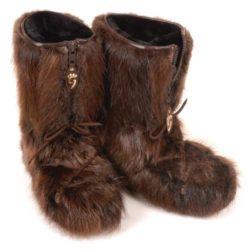 botte-fourrure-castor-hiver