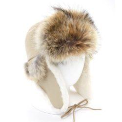 chapeau-aviateur-coyote-fourrure